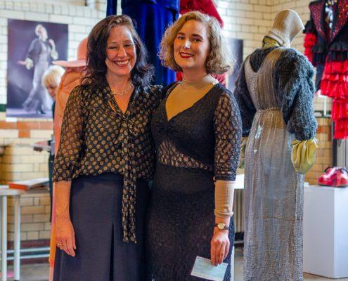 FEUVA Costume Student Prize 2018 winner with teacher