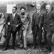James Joyce, Ezra Pound, John Quinn and Ford Madox Ford in Paris, Autumn 1923