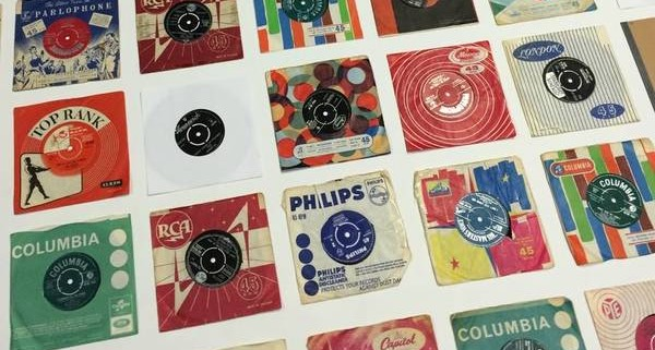 Collection of vinyl 45s