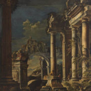 Giovanni Ghisolfi - Ruins and Figures
