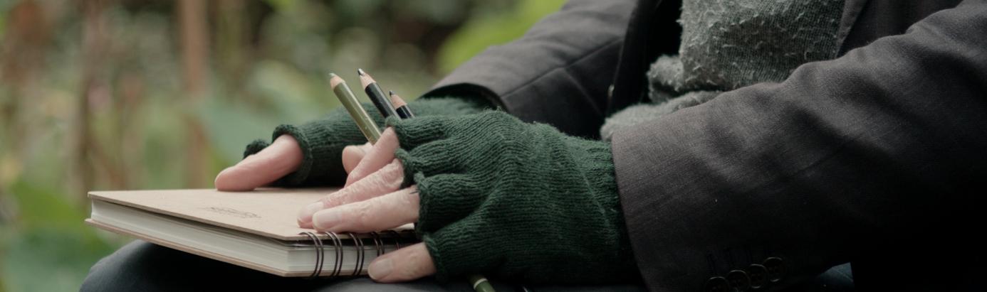 Hands of Artist Alexander Moffat