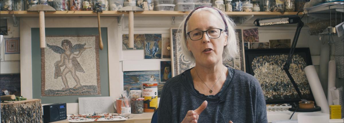 Helen Miles - Guerilla Mosaics Lewis Raeburn